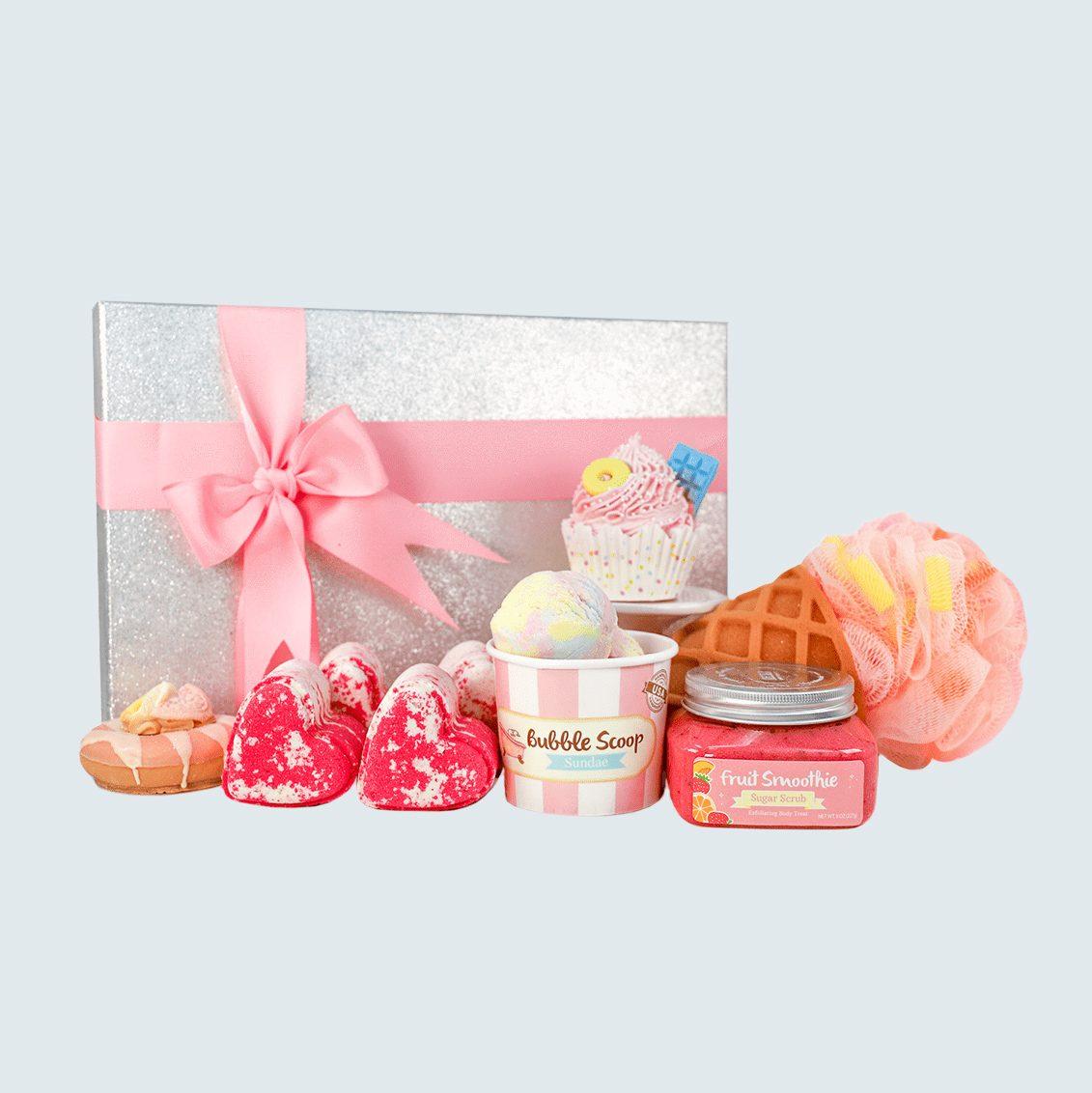 Nectar Bath Treats Sweet and Bubbly Spa Gift Set