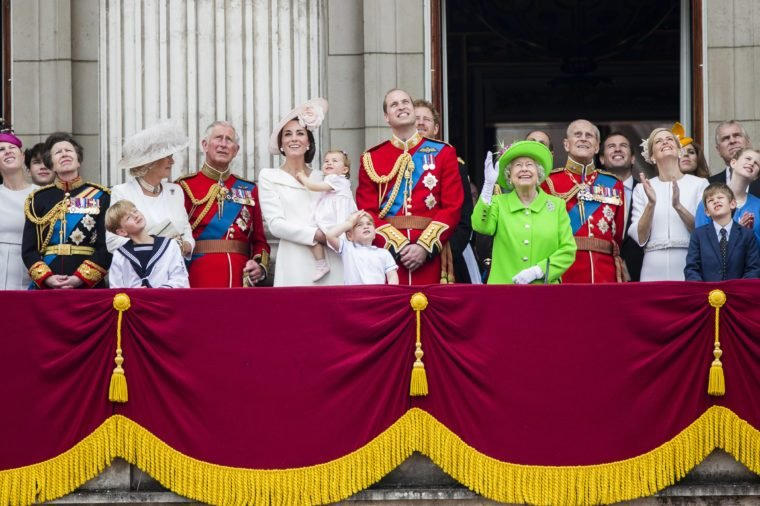 royal family queen's birthday