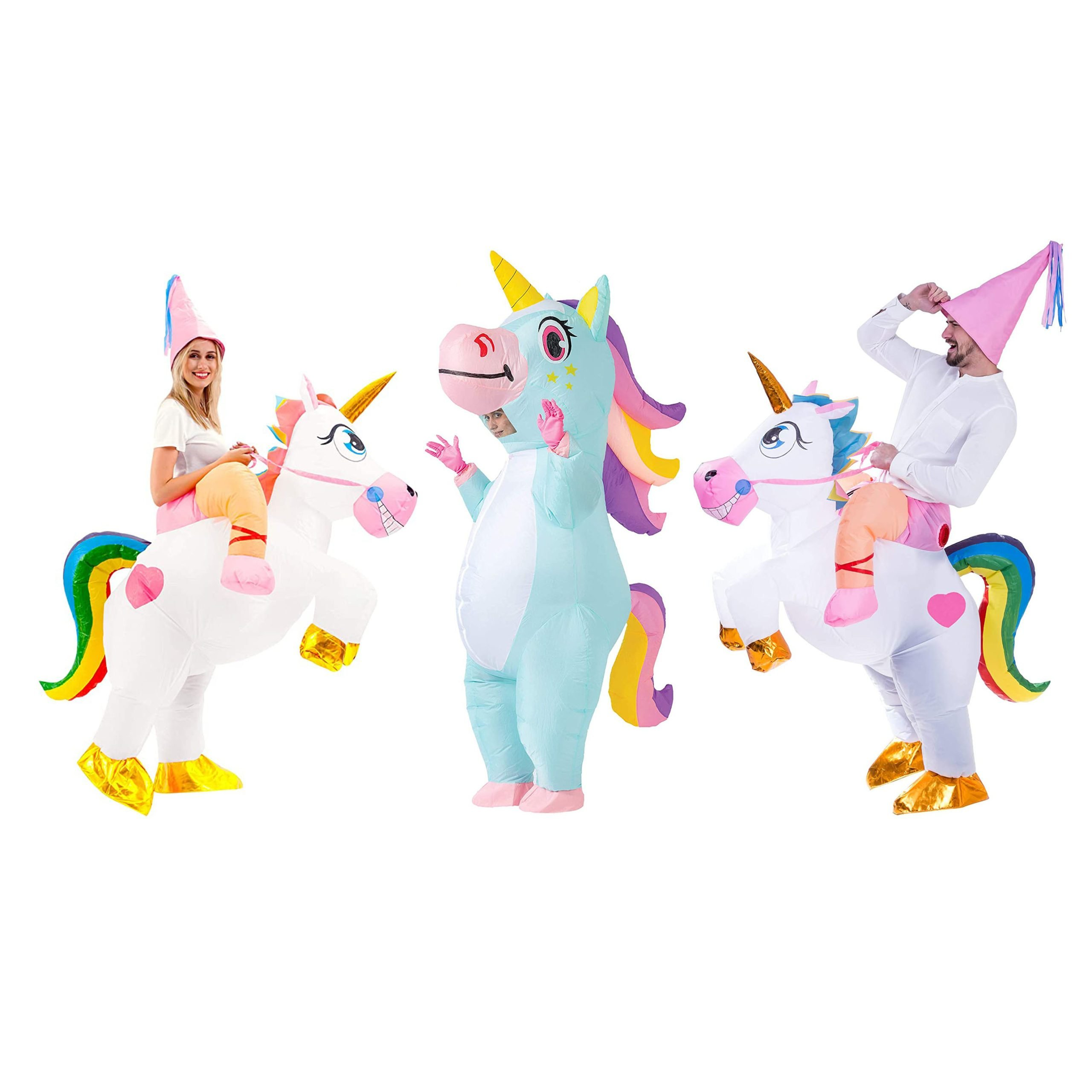 A menagerie of mythical creatures unicorns costumes