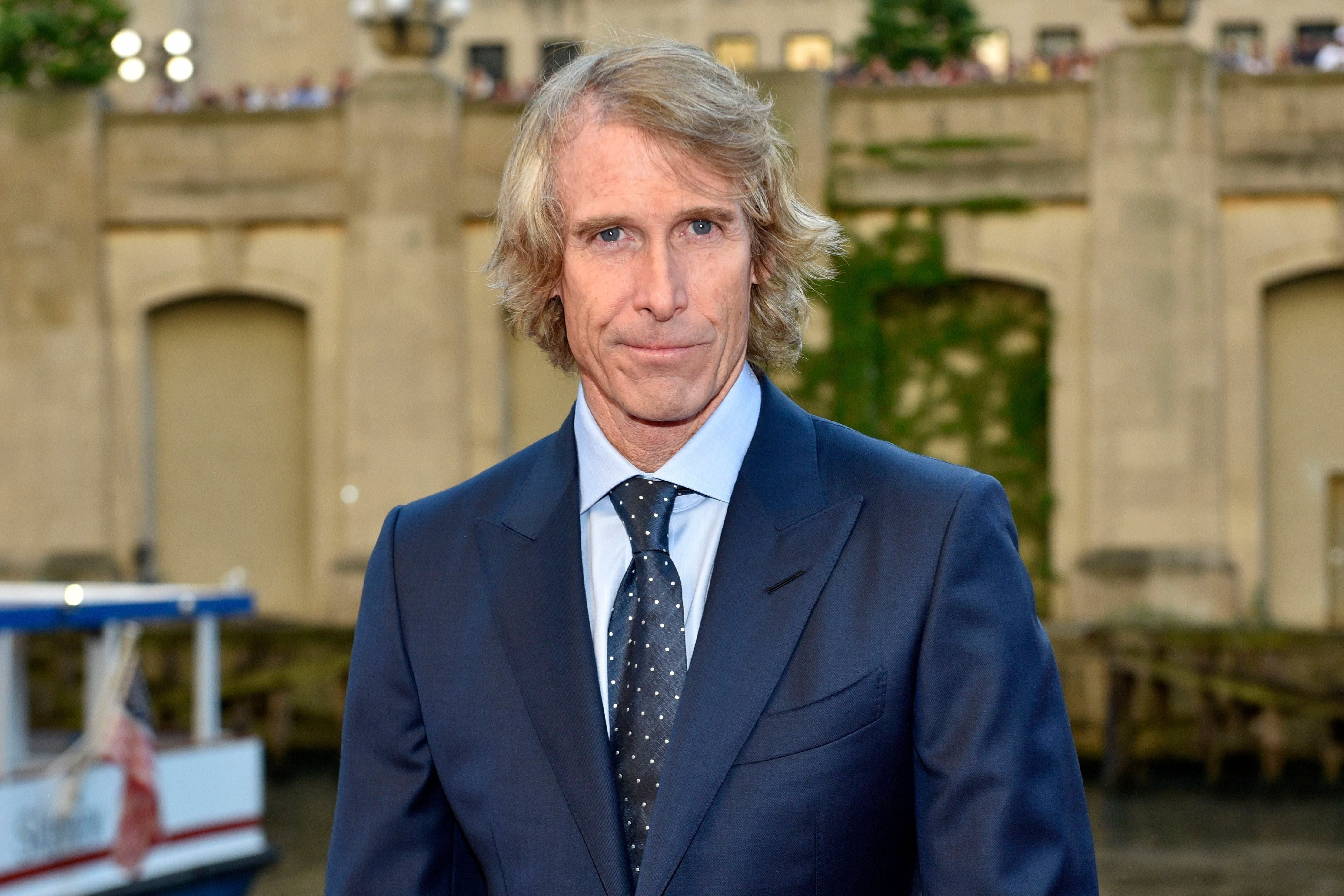 "Mandatory Credit: Photo by Invision/AP/Shutterstock (9242097br) Michael Bay attends the U.S. premiere of ""Transformers: The Last Knight"" at the Civic Opera House, in Chicago US Premiere of ""Transformers: The Last Knight"", Chicago, USA - 20 Jun 2017"