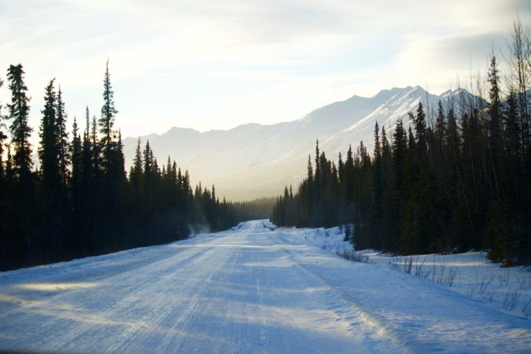 Mountains on the Dempster Highway, Yukon, Canada