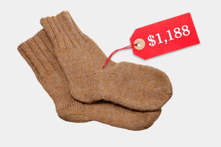 unreasonably expensive socks