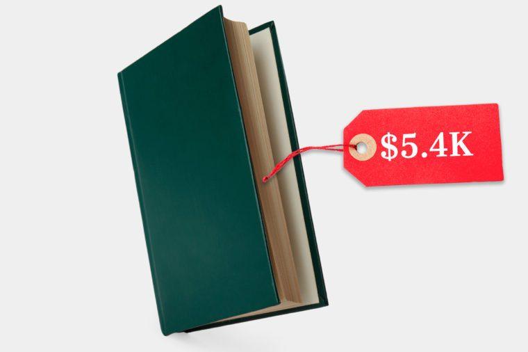 unreasonably expensive book