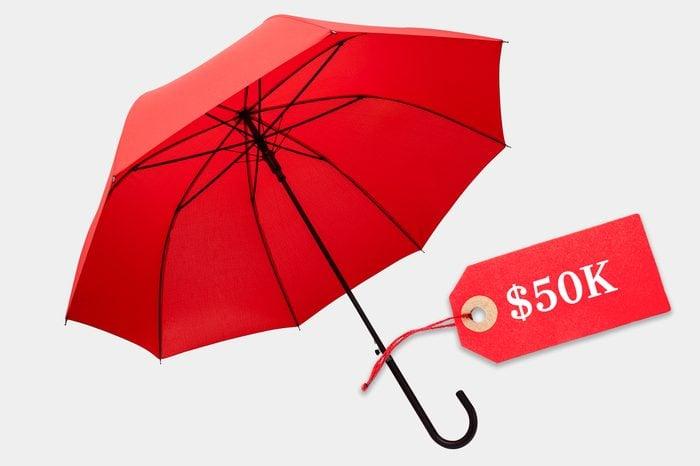 unreasonably expensive umbrella