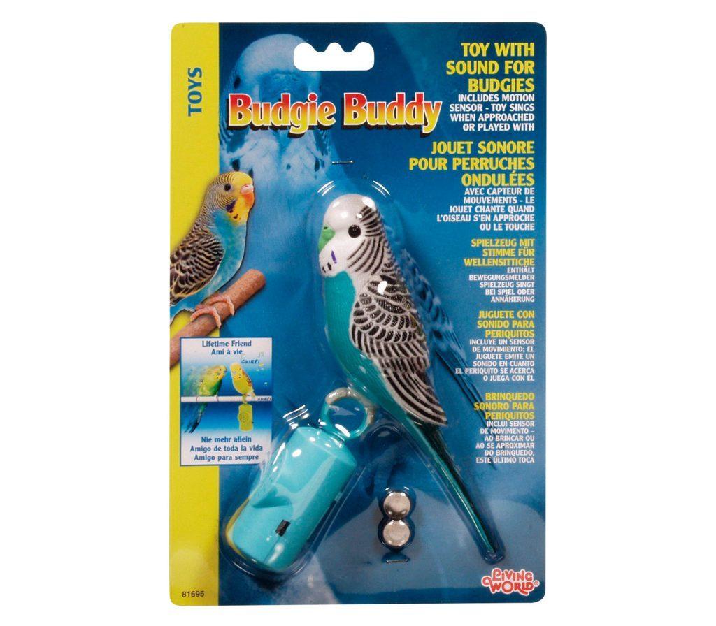 singing parakeet toy