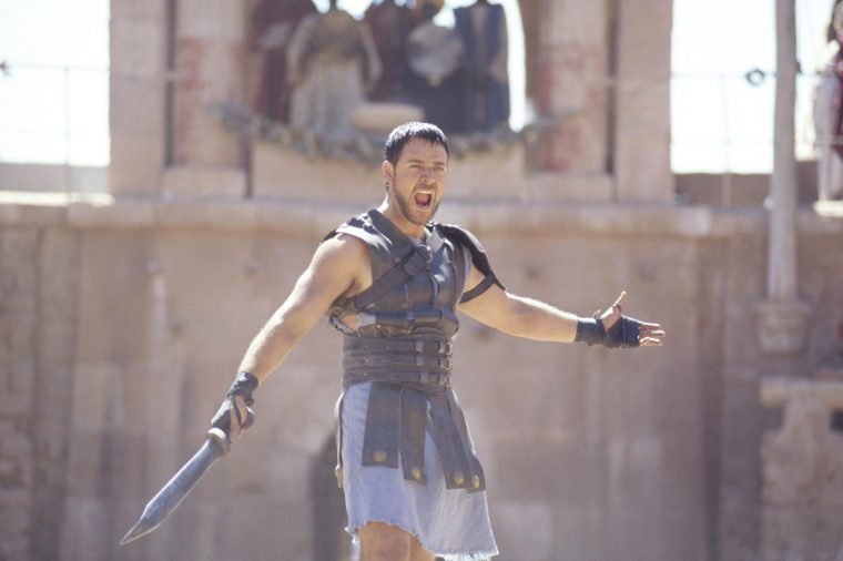 are you not entertained? movie quote