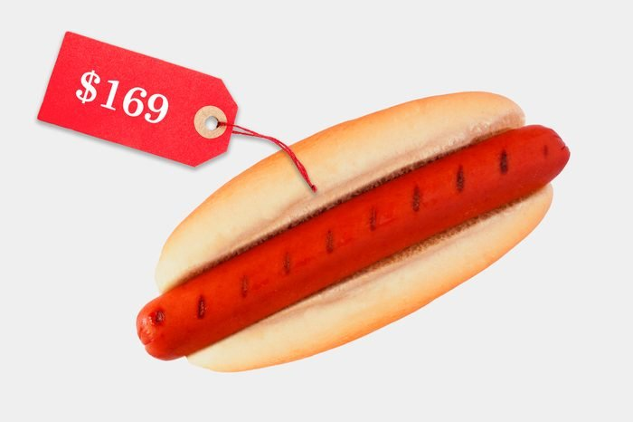 unreasonably expensive hot dog