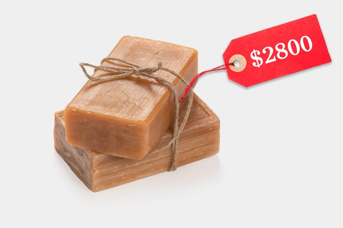 unreasonably expensive bar soap