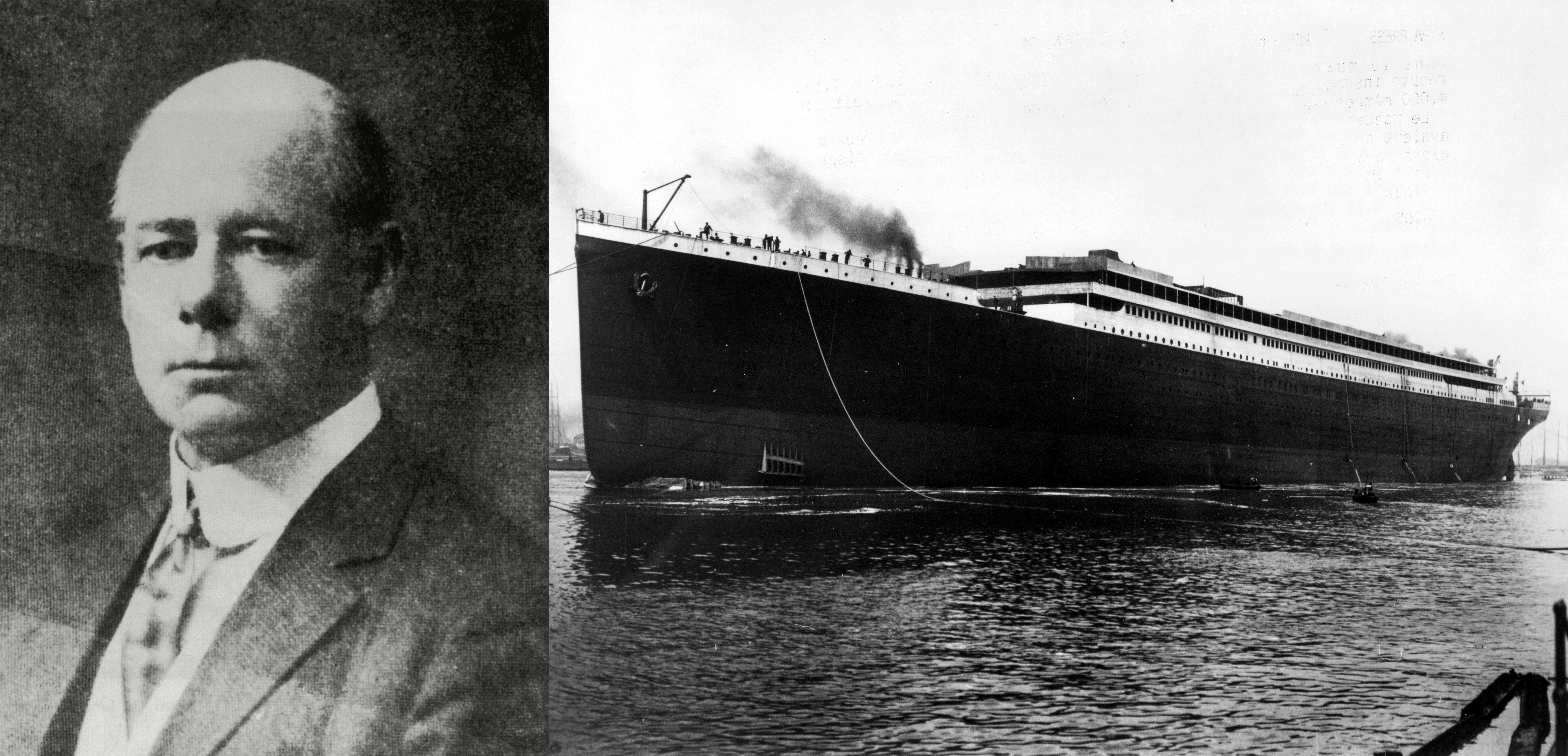 Mandatory Credit: Photo by Sipa/Shutterstock (118763c) Launching of the hull of the Titanic, Southampton, Britain - 31 May 1911 TITANIC SHIP RETROSPECTIVE