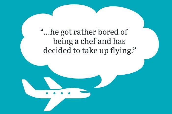 funny jokes said on an airplane