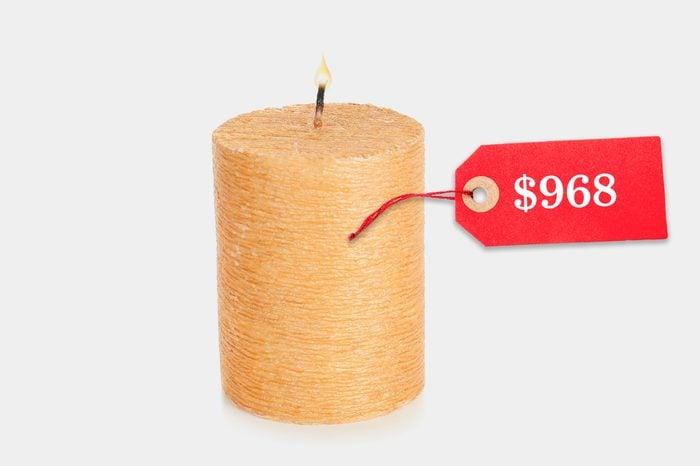 unreasonably expensive candle