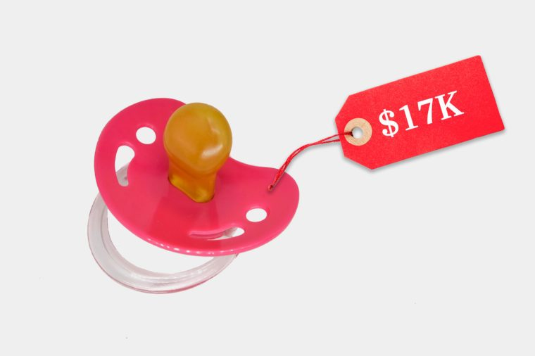 unreasonably expensive pacifier