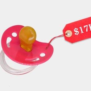 unreasonably expensive pacifier