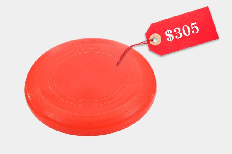unreasonably expensive frisbee
