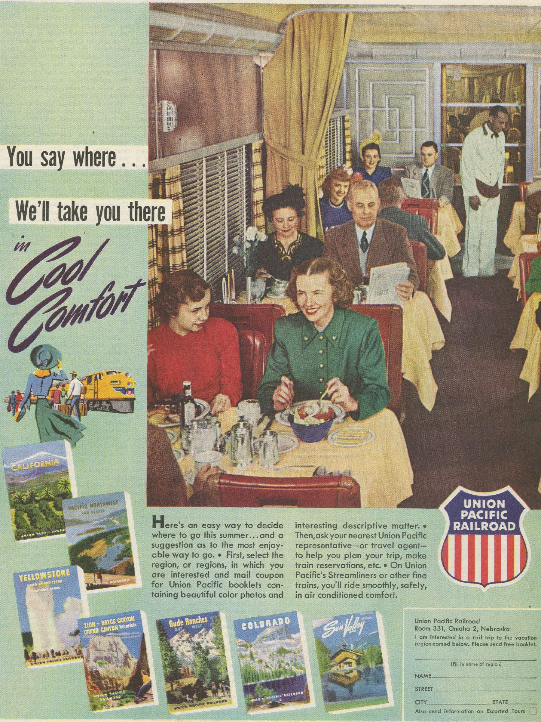 Reminisce ad travel vintage
