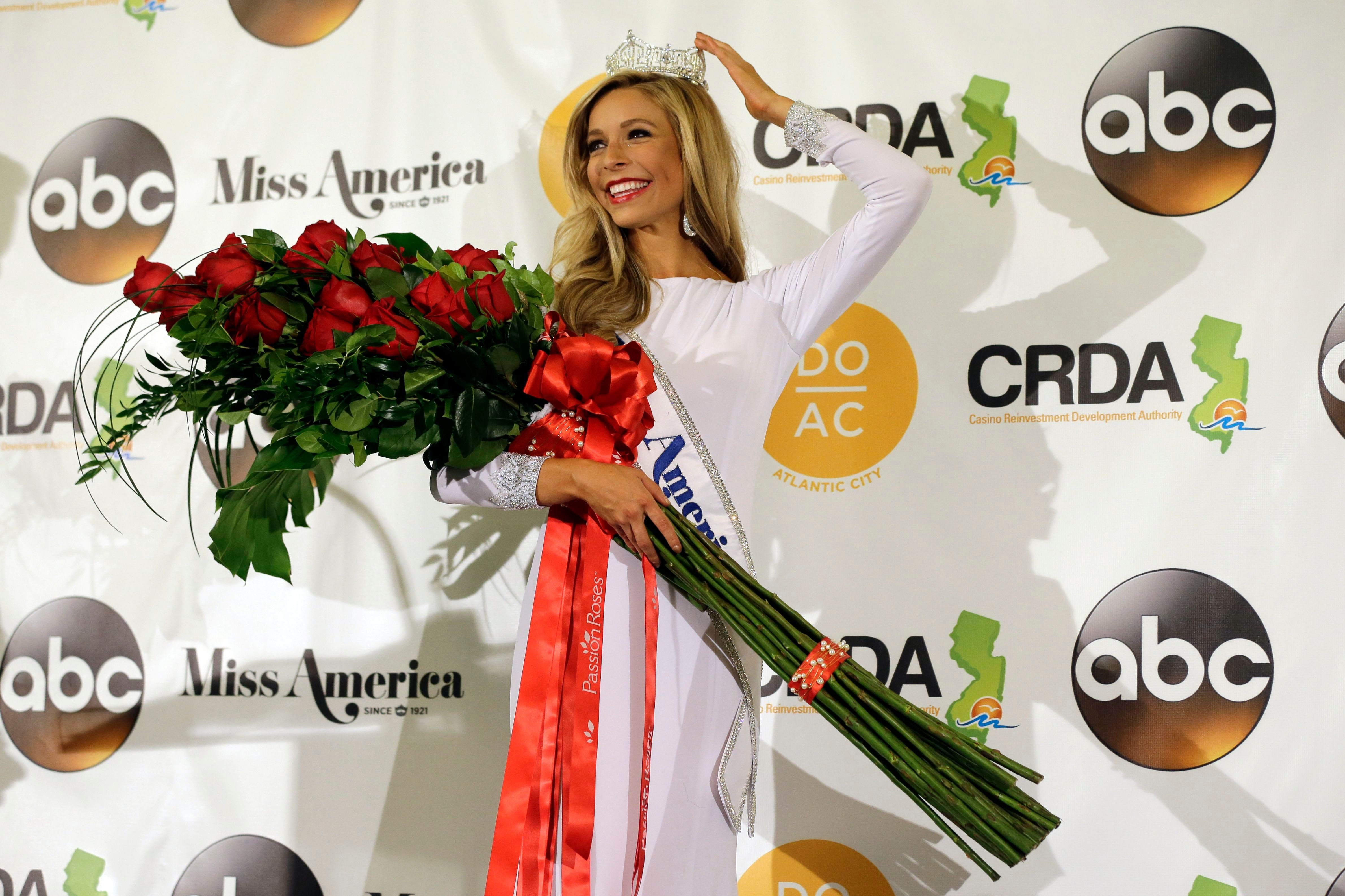 Mandatory Credit: Photo by Mel Evans/AP/Shutterstock (6017778j) Kira Kazantsev Miss New York Kira Kazantsev poses for photographers during a news conference after she was crowned Miss America 2015 during the Miss America 2015 pageant, in Atlantic City, N.J Miss America, Atlantic City, USA