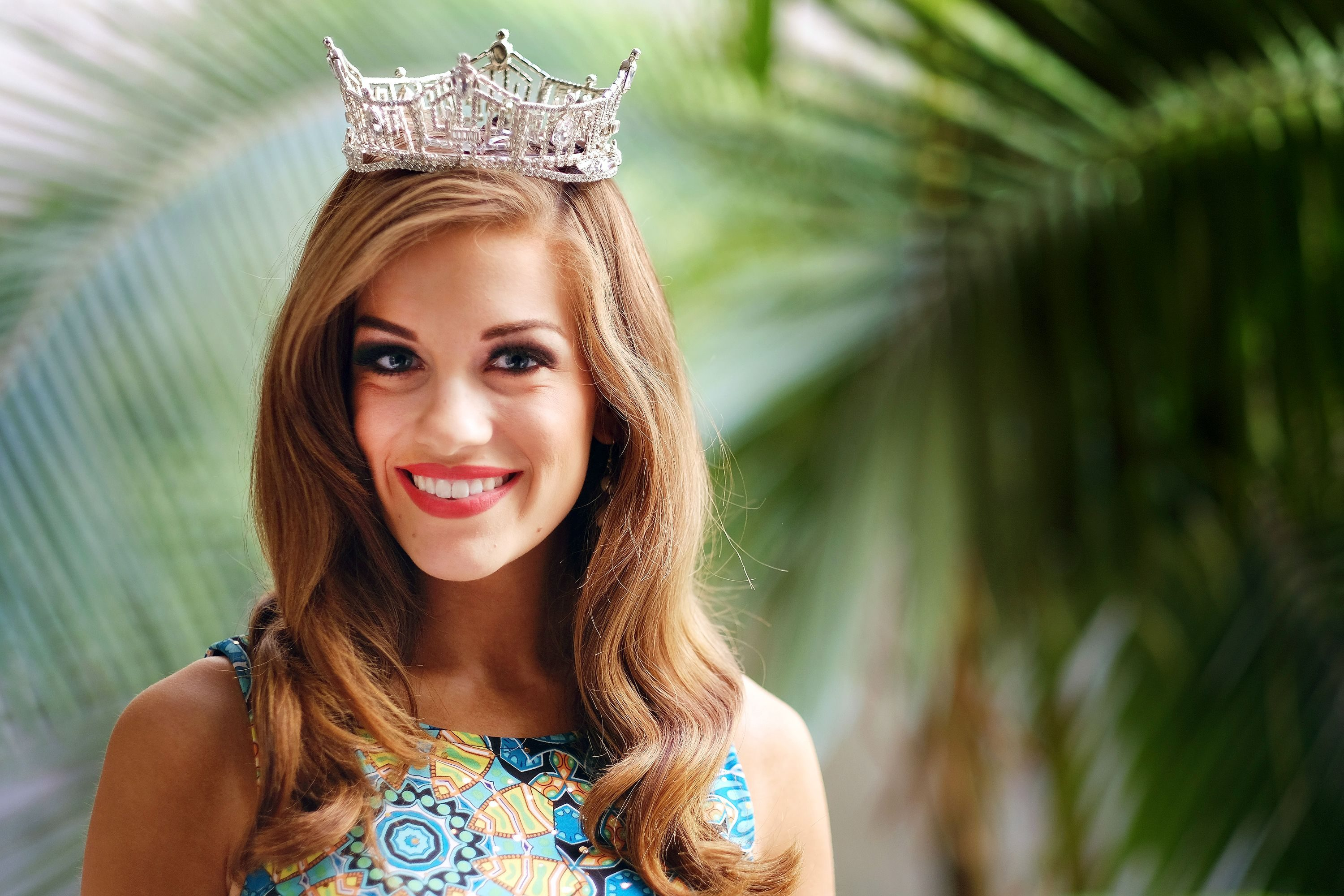 Mandatory Credit: Photo by Richard Vogel/AP/Shutterstock (6084407b) Betty Cantrell Newly-crowned Miss America 2016, Betty Cantrell poses for a portrait in Los Angeles. Cantrell, who is from Georgia, won a $50,000 scholarship with her title and hopes to someday perform on Broadway Miss America-Deflategate, Los Angeles, USA