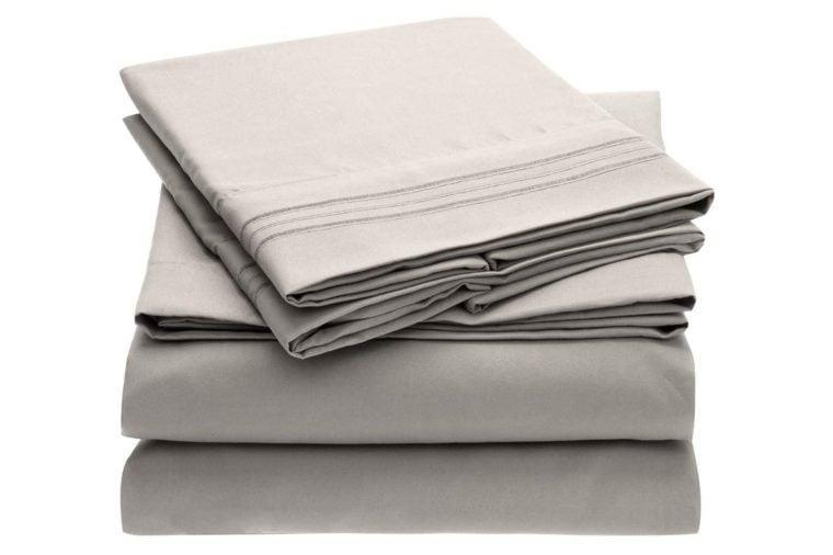 mellanni bed sheet