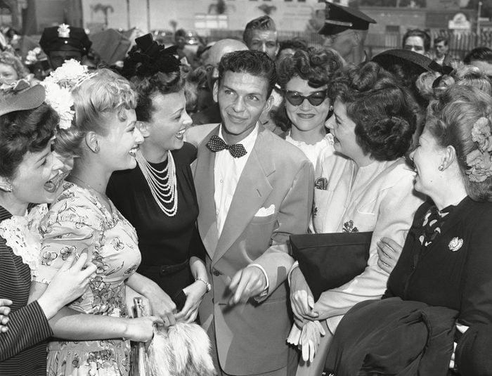 frank sinatra vintage photo