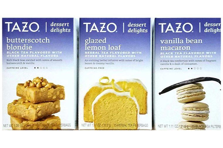 tazo dessert delights tea gift