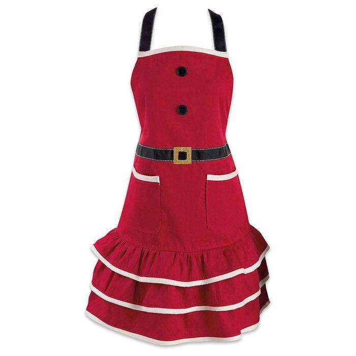 mrs. claus apron