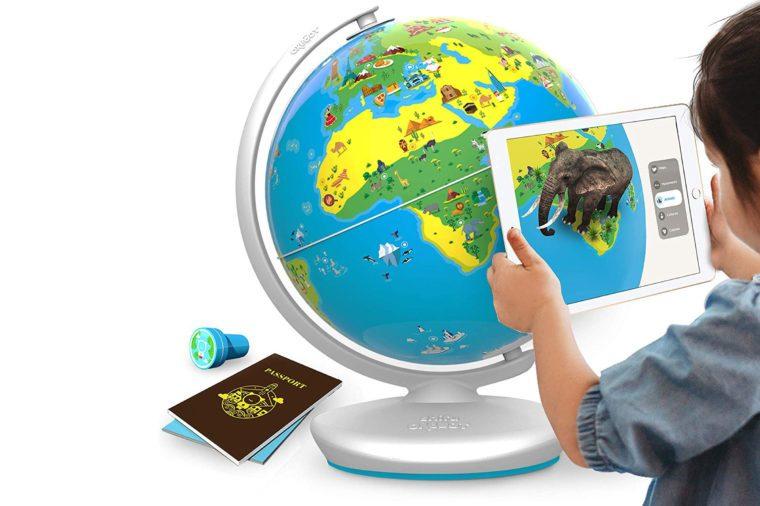interactive globe holiday gifts