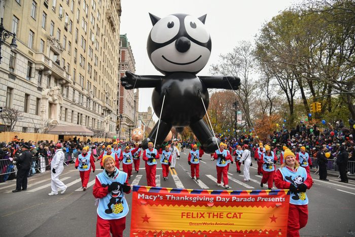 Felix the Cat balloon Macy's Thanksgiving Day Parade