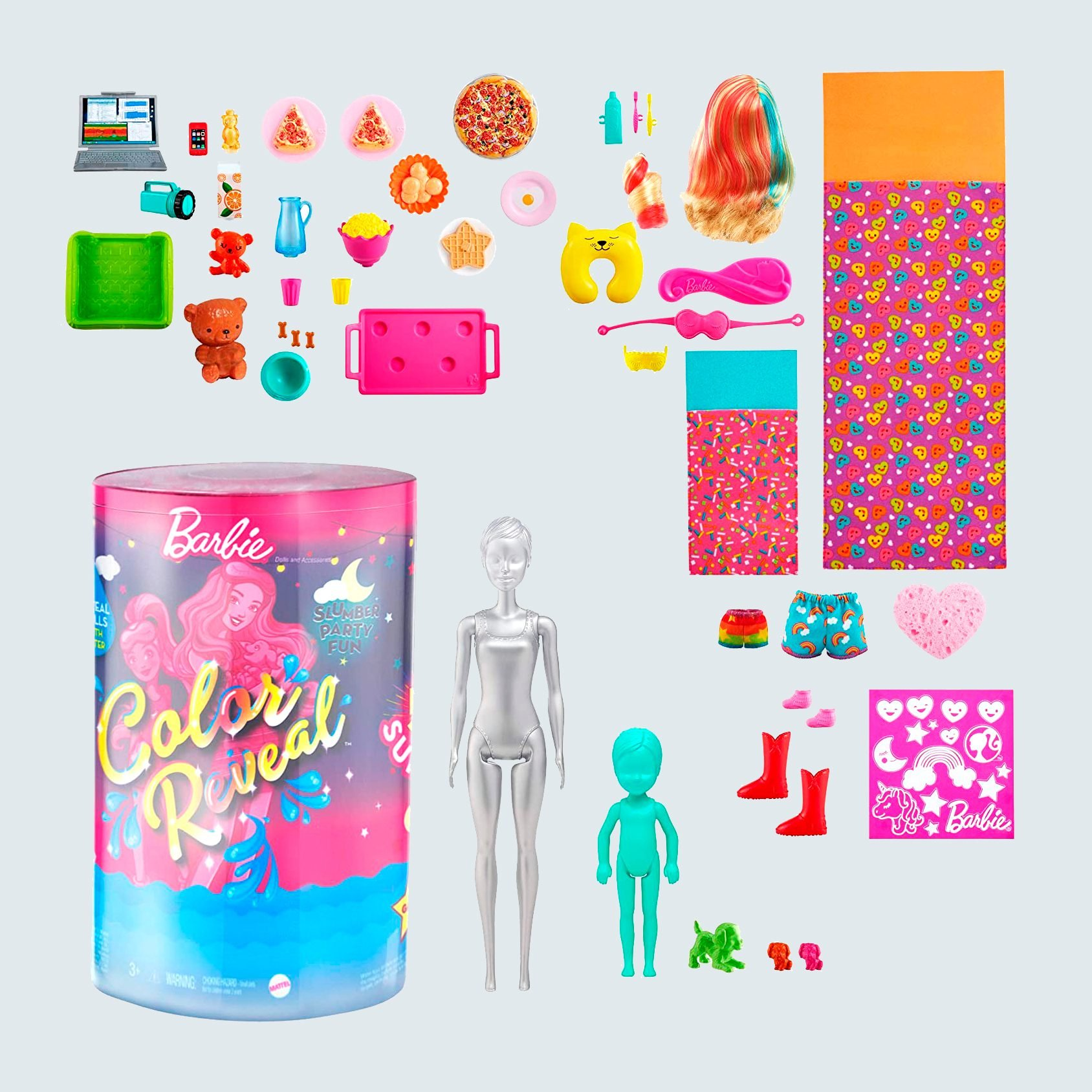 Barbie Color Reveal Slumber Party