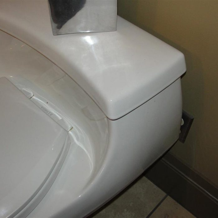 blocked outlet toilet