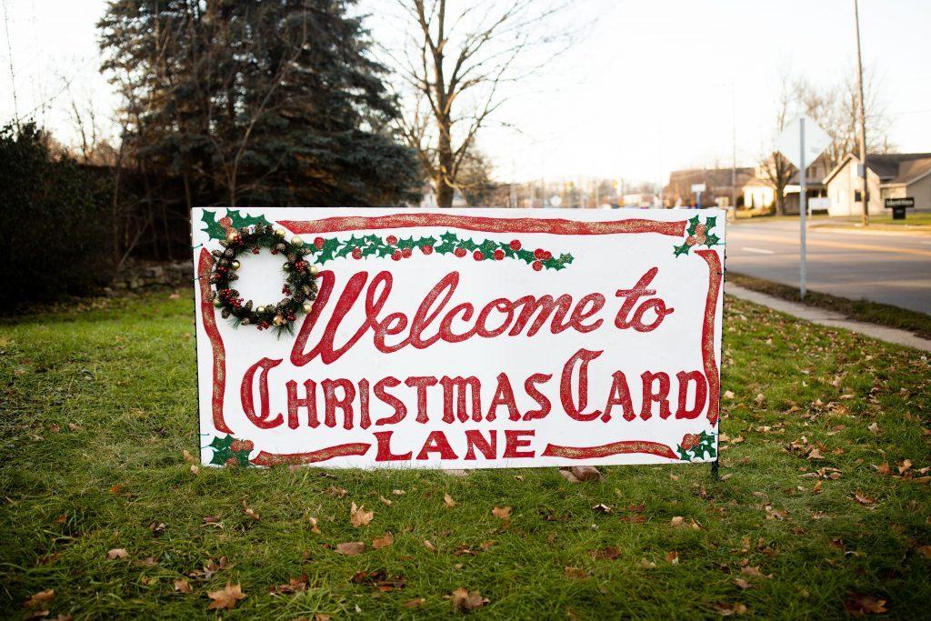Christmas Card Lane