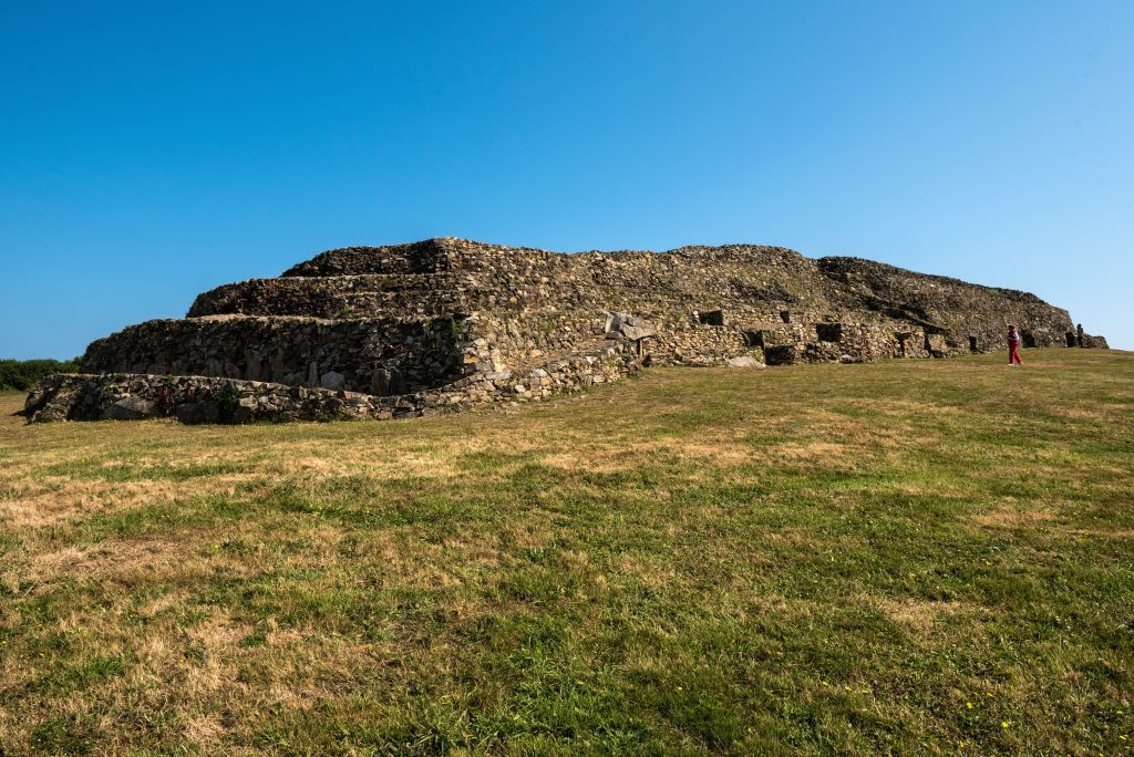 Megalithic structure in Brittany (Barnenez)