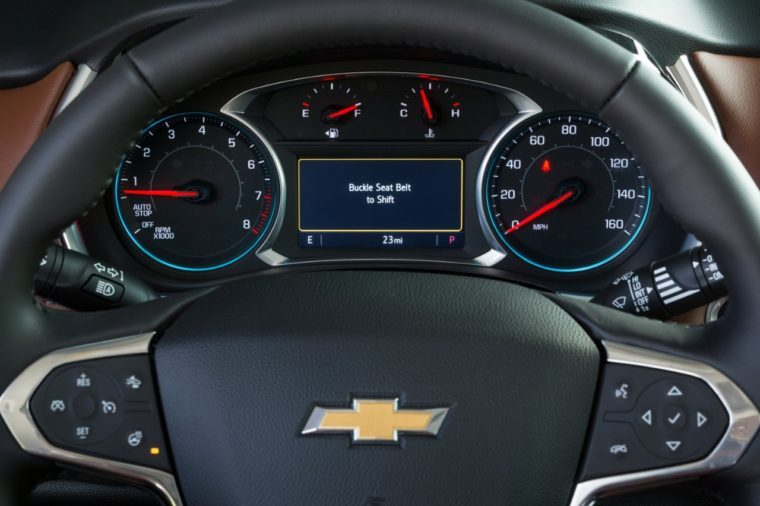 Chevrolet Buckle to Drive feature