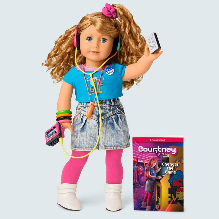 American Girl Courtney Doll, Book, & Accessories
