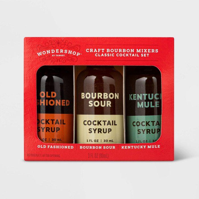bourbon mixers gift set