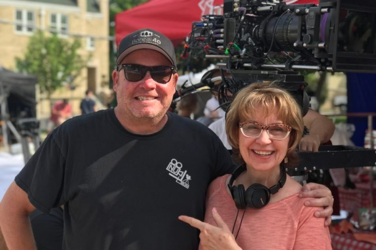 barbara hinske hallmark movie set