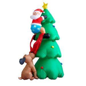11 Christmas Inflatables Your Neighbors May Not Like