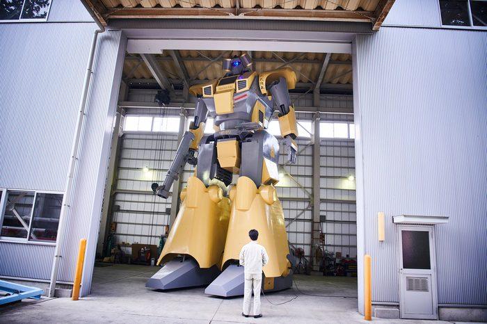largest humanoid vehicle world record