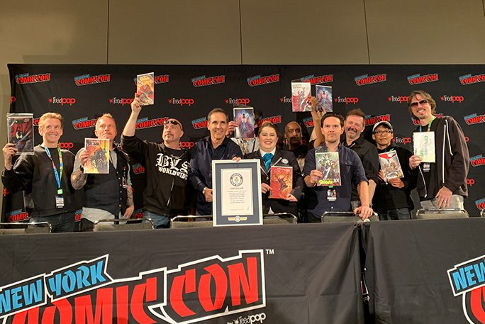 longest owned comic series world record