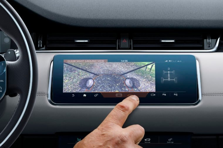 range rover clearsight car feature