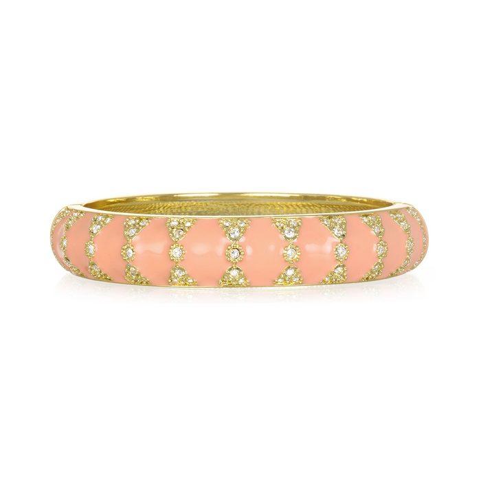 Sequin Moorish Blush Bangle Bracelet