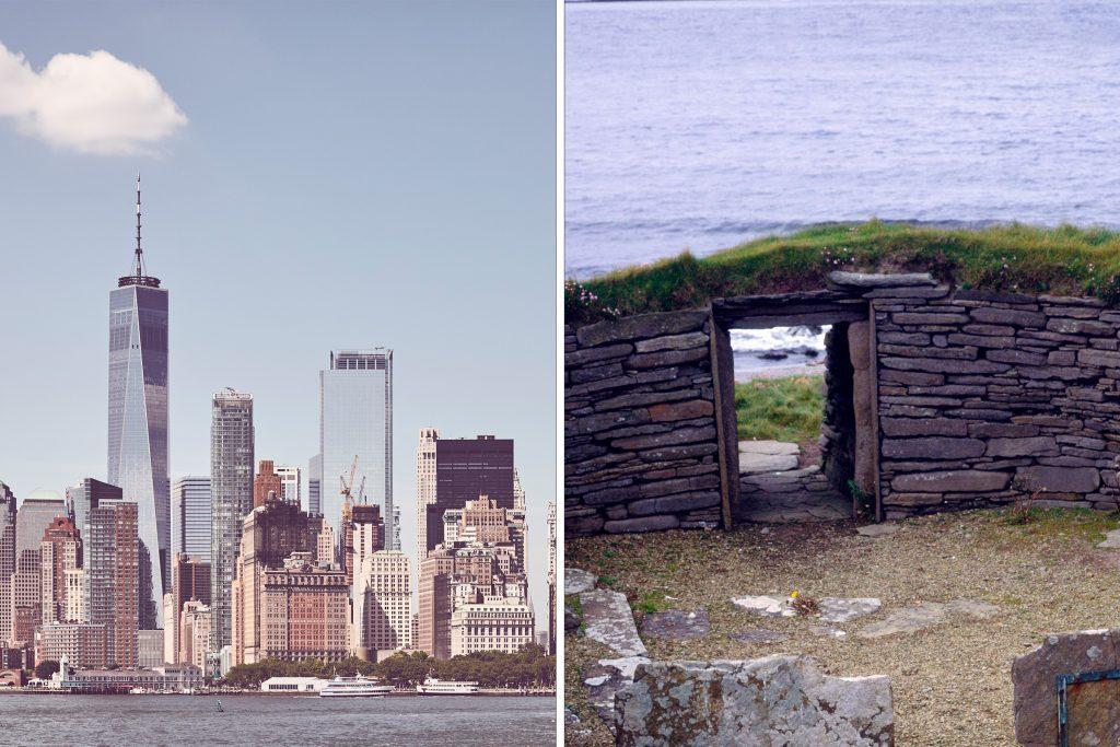 old vs new buildings