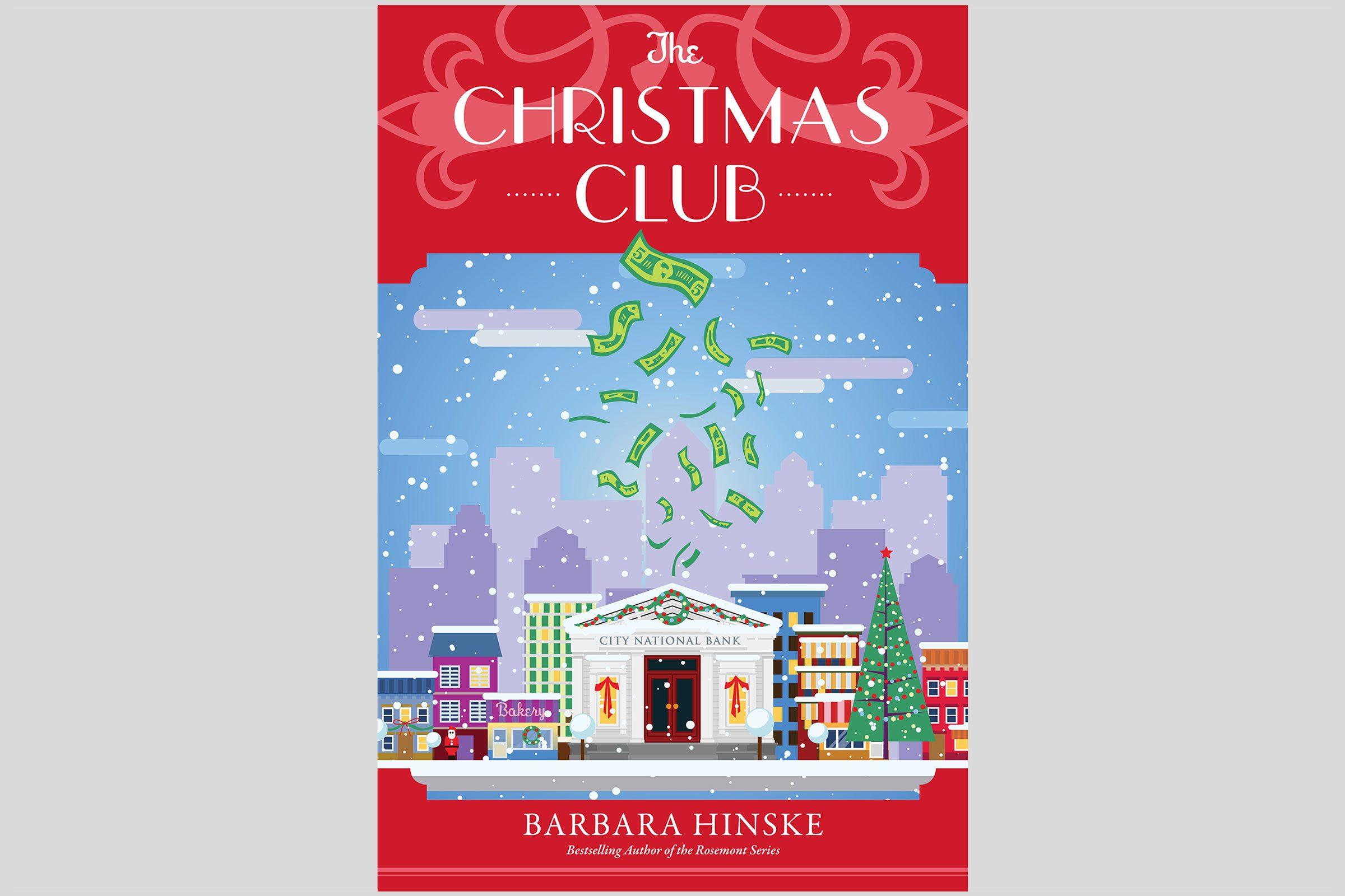 the christmas club book cover by barbara hinske