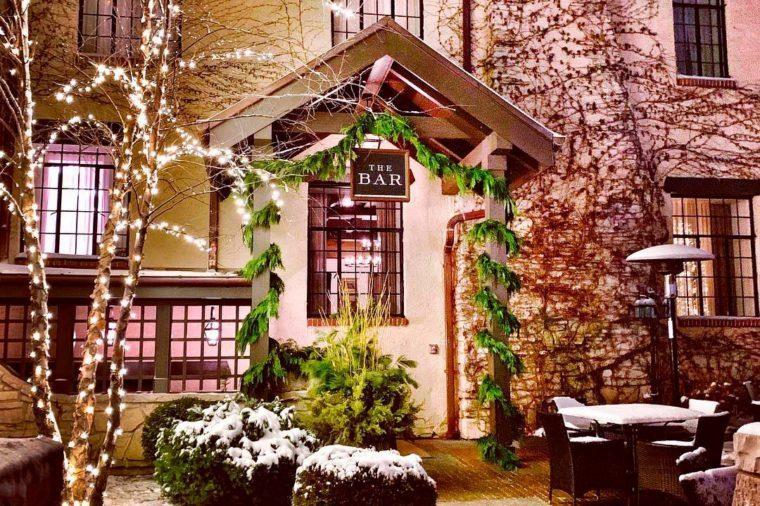 Door for The Bar at Deer Path Inn
