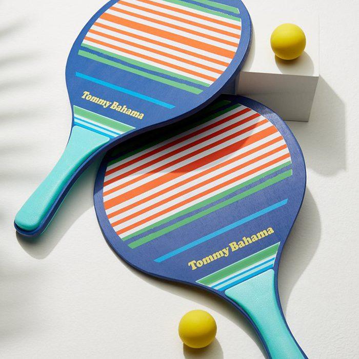 Tommy Bahama Nautical Stripe Paddleball Set