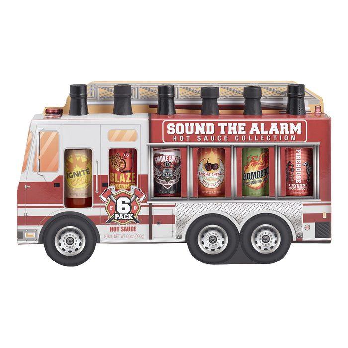 World Market Fire Truck Hot Sauce Sampler