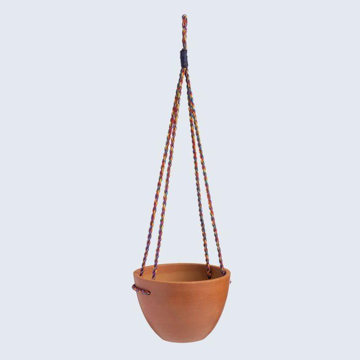 Abroad Modern Twist Hanging Planter