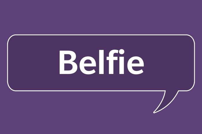 slang words belfie