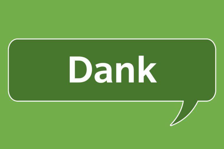 slang words dank