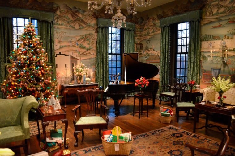 christmas at winterthur