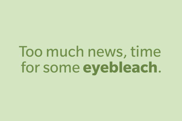 slang words eyebleach